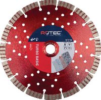 ROTEC Diamanttrennscheibe Turbo Basic 125 mm - toolster.ch