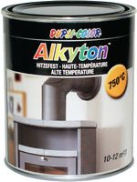 DUPLI-COLOR Alkyton Lack Hitzefest 750 ml, Schwarz matt - toolster.ch