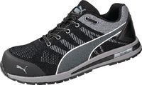 PUMA Sicherheitshalbschuh S1P Elevate Knit Black Low 43 - toolster.ch