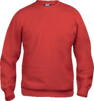 CLIQUE Sweat-Shirt  Basic Roundneck 021030 / rot L - brwtools.ch