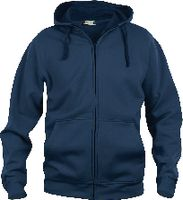 CLIQUE Basic Hoody Full Zip  021034 dark navy L - toolster.ch