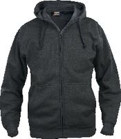 CLIQUE Basic Hoody Full Zip  021034 anthrazit meliert L - toolster.ch