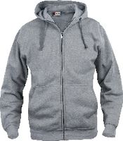 CLIQUE Basic Hoody Full Zip  021034 graumeliert XL - toolster.ch