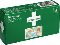 CEDERROTH Burn Gel Dressing Cederroth Packung mit 2 Kompressen - toolster.ch