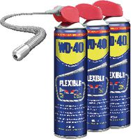 WD-40 Mehrzweck-Kriechöl Flexible Straw 3 x 400 ml Spray - brwtools.ch