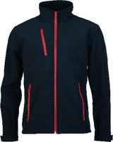 PREVENT Softshell Jacke Prevent schwarz/rot L - toolster.ch