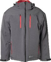 PLANAM Winterjacke Drift zink/rot S - toolster.ch
